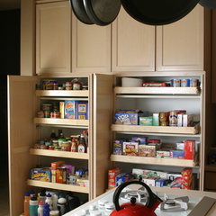 traditional kitchen cabinets by The Pullout Shelf Company