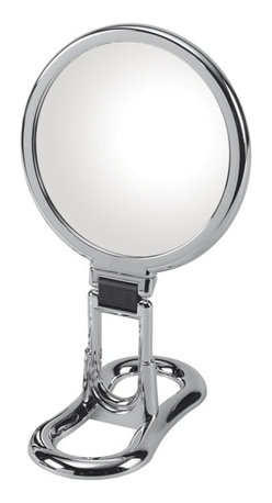 WS Bath Collections - Toeletta 398-3KK Table Magnifying Mirror 3x in Chrome - Toelleta 398-3KK Table Magnifying Mirror in Chrome