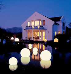 modern outdoor lighting by Home Infatuation