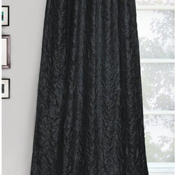 Park B Smith - Park B. Smith Crinkle Chintz Inverted Tab Panel - CRCHZ1-BLK - Shop for Curtains and Drapes from Hayneedle.com! Add elegance to any space with the Park B. Smith Crinkle Chintz Inverted Tab Panel. The crinkle design and sumptuous color options create sophisticated style. Inverted tab panels make hanging easy and give a tailored look.