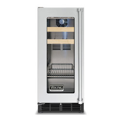 """Viking Professional 15""""Beverage Center Stainless Left Hinge 