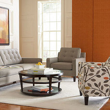 Ava Living Room Furniture Sets & Pieces, Fabric