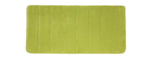 """Living Healthy Products - Microfiber Absorbing Bathroom Mat 20x30 Horizontal Line Pattern, Green - Step out of the Shower and into Plush Luxury with this quilted memory foam bathroom mat. This mat has a stable non slip latex backing and is covered with a silky soft microfiber. The mat absorbs moisture as you stand in comfort and protects you feet from the cold tile floors. Available in 2 Sizes : 17"""" x 24"""" or 20"""" x 30"""""""