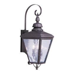 Livex Lighting - Livex Lighting 2033-07 Outdoor Lighting/Outdoor Lanterns - Livex Lighting 2033-07 Outdoor Lighting/Outdoor Lanterns
