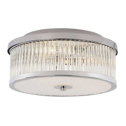Trans Globe Lighting - Trans Globe Lighting 10155 PC Flushmount In Polished Chrome - Part Number: 10155 PC