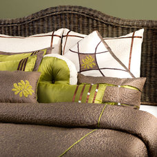 Contemporary Bed Pillows And Pillowcases by Pure Home