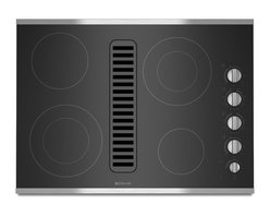 "Jenn-Air 30"" Electric Radiant Downdraft Cooktop, Stainless/blk 