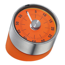 "Frieling - Tower of Pisa Kitchen Timer - This wonderfully designed kitchen timer features an intuitive display. It's also intentionally angled, making it easy for you to glance over and ""gauge"" how much cooking or baking time is left."