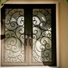 Modern Front Doors by Universal Iron Doors & Hardware Inc.
