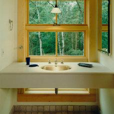Traditional Bathroom by CWB Architects