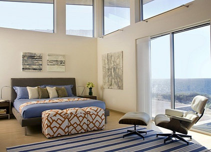 Modern Bedroom by ZeroEnergy Design