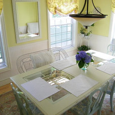 Traditional Dining Room by Amy of  Maison Decor