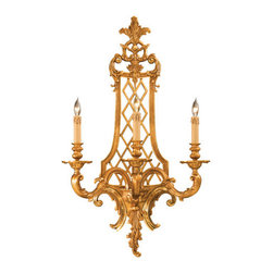 Metropolitan - Metropolitan N9803 Three Light Up Lighting Wall Sconce Metropolitan Col - Renaissance Three Light Up Lighting Wall Sconce from the Metropolitan CollectionSince 1939, the Metropolitan� Lighting Fixture Co. has been proudly illuminating the finest interiors with antique reproduction lighting fixtures made from alabaster, brass, bronze, iron, wood and mouth blown Murano glass.  Although Metropolitan looks forward to the future with great anticipation, they are ever mindful of their heritage in the past.Features:
