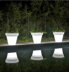 modern outdoor planters by AllModern