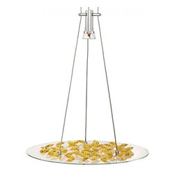 """LBL Lighting - LBL Lighting Piattini pendant light - The Piattini pendant light from LBL Lighting has been designed by LBL Lighting. This suspension mounted luminaire is great for halogen lighting. The Piattini is constructed of a large diameter glass lens with elegant Swarovski crystals in amber or clear. The Piattini pendant light exhibits an elegant and unique design, along with quality craftsmanship, that is sure to brilliantly illuminate any contemporary atmosphere.  Product Details:  The Piattini pendant light from LBL Lighting has been designed by LBL Lighting. This suspension mounted luminaire is great for halogen lighting. The Piattini is constructed of a large diameter glass lens with elegant Swarovski crystals in amber or clear. The Piattini pendant light exhibits an elegant and unique design, along with quality craftsmanship, that is sure to brilliantly illuminate any contemporary atmosphere.   Details:                                      Manufacturer:                                      LBL Lighting                                                     Designer:                                     LBL Lighting                                                     Made in:                                     USA                                                     Dimensions:                                      Max Height: 120"""" (304.8 cm) Width: 18"""" (45.7 cm)                                                      Light bulb:                                      1 X 50W halogen                                                     Material:                                      Glass, Stainless Steel, Swarovski Crystals"""