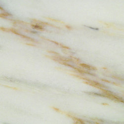 Imperial Danby - In the same basic family as some of the Calacatta marbles with more subtle veining and crisper background.