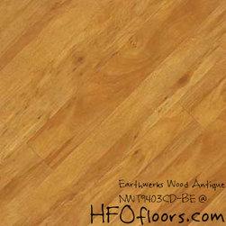 Earthwerks Wood Antique Beveled Edge Plank - Earthwerks Wood Antique, NWT9403CD-BE. Available at HFOfloors.com.