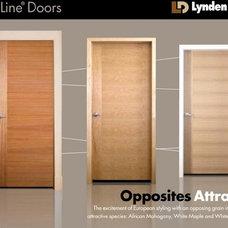 Eclectic Interior Doors by Lynden Door