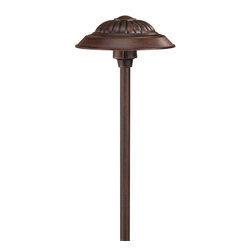 Hinkley - Hinkley One Light Southern Clay Path Light - 1573SC - This One Light Path Light is part of the Path Collection and has a Southern Clay Finish. It is Outdoor Capable, and Wet Rated.