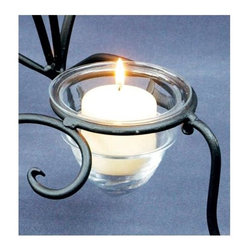 Achla - Clear Glass Candle Votive Holder - Votive candles have always been used to illuminate sanctuaries, and are appreciated for their long lasting, steady light.  This Clear Glass Votive Holder with its appealing design enables you to capture that warm glow for your intimate dining and decorating pleasure. * Includes Glass Votive folder only. Clear GlassVotive candles have always been used to illuminate sanctuaries, and are appreciated for their long lasting, steady light. This Clear Glass Votive Holder with its appealing design enables you to capture that warm glow for your intimate dining and decorating pleasure.