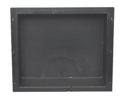 Tileredi - TileRedi RN1614S-BI 16x14 Single Niche - TileRedi RN1614S-BI Individually Boxed 16 inch L x 14 inch W,  Standard Single Niche. Material ABS Black
