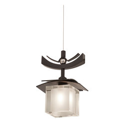 KALCO Lighting 2985TP Nijo Tawny Port Mini Pendant - KALCO Lighting 2985TP Nijo Tawny Port Mini Pendant*Number of Bulbs: 1*Bulb Type: 40 Watt G9 Xenon*Bulb Included*Collection: Nijo*Weight: 5*Safety Rating: UL/cUL Listed for Dry Locations