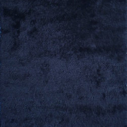 Surya - Plush Stealth 2'x3' Rectangle Federal Blue Area Rug - The Stealth area rug Collection offers an affordable assortment of Plush stylings. Stealth features a blend of natural Federal Blue color. Handmade of 100% Polyester the Stealth Collection is an intriguing compliment to any decor.