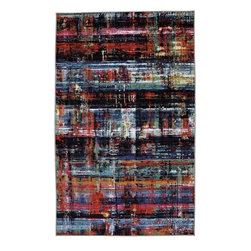 Mohawk - Contemporary Windthread Multi 5'x8' Rectangle Multi Color Area Rug - The Windthread Multi area rug Collection offers an affordable assortment of Contemporary stylings. Windthread Multi features a blend of natural Multi Color color. Machine Made of Nylon the Windthread Multi Collection is an intriguing compliment to any decor.
