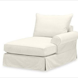 "PB Comfort Roll Arm SectionalRight Arm Chaise Knife-EdgeBrushed CanvasNaturalSli - Designed exclusively for our versatile PB Comfort Sectional Components, these soft, inviting slipcovers retain their smooth fit and remove easily for cleaning. Left Armchair with Box Cushions is shown. Select ""Living Room"" in our {{link path='http://potterybarn.icovia.com/icovia.aspx' class='popup' width='900' height='700'}}Room Planner{{/link}} to select a configuration that's ideal for your space. This item can also be customized with your choice of over {{link path='pages/popups/fab_leather_popup.html' class='popup' width='720' height='800'}}80 custom fabrics and colors{{/link}}. For details and pricing on custom fabrics, please call us at 1.800.840.3658 or click Live Help. Fabrics are hand selected for softness, quality and durability. All slipcover fabrics are hand selected for softness, quality and durability. {{link path='pages/popups/sectionalsheet.html' class='popup' width='720' height='800'}}Left-arm or right-arm{{/link}} is determined by the location of the arm as you face the piece. This is a special-order item and ships directly from the manufacturer. To see fabrics available for Quick Ship and to view our order and return policy, click on the Shipping Info tab above. Watch a video about our exclusive {{link path='/stylehouse/videos/videos/pbq_v36_rel.html?cm_sp=Video_PIP-_-PBQUALITY-_-SUTTER_STREET' class='popup' width='950' height='300'}}North Carolina Furniture Workshop{{/link}}."