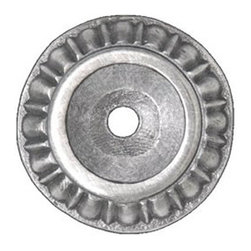 Notting Hill DH - Kensington Backplates in Antique Pewter (NHE508-AP) - Kensington Backplates in Antique Pewter 1-1/4""
