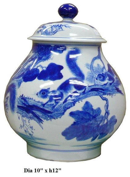 Contemporary Vases by Golden Lotus Antiques