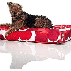 "Doggielounge Marimekko® Fatboy - This Pet pick comes from Houzz Team Member Annie, who says ""Every dog deserves a designer bed to nap on. And this one is big enough and stylish enough that it would be difficult to prevent me from napping on it side-by-side with my dog."""