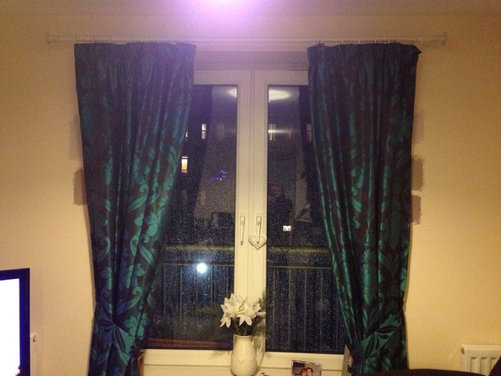 Brown And Teal Curtains What Wall Colour