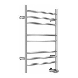 "Mr Steam - Mr Steam W328SSP Polished Stainless Steel 300 300 Electric-Wall Towel - 300 Electric-Wall Towel Warmer The ultimate indulgence after a steam bath or shower is wrapping yourself in a freshly warmed towel.  Mr. Steam s Series 300 towel warmers are available in free standing and wall mounted options, providing a luxury you won t want to resist. Mr Steam W328 Features:  Constructed from the highest quality stainless steel Comes in brushed or polished finish Includes integrated aromatherapy oil well  Mr Steam W328 Specifications:  Height: 31.5"" Length: 4.75"" Width: 20"""