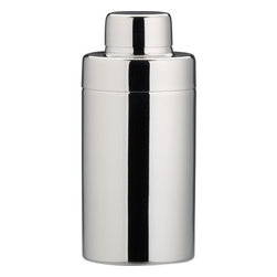 stainless steel shiny mini cocktail shaker - - Stainless steel- Shiny finish- Hand wash- Made in India