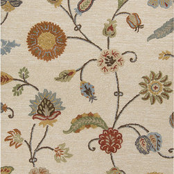 "Surya - Surya Sprout SRT-2002 (Taupe, Mocha) 3'3"" x 5'3"" Rug - This Hand Tufted rug would make a great addition to any room in the house. The plush feel and durability of this rug will make it a must for your home. Free Shipping - Quick Delivery - Satisfaction Guaranteed"