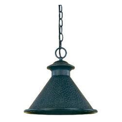 World Imports - World Imports 9008 Dark Sky Essen  Outdoor Hanging Lantern - World Imports 9008-42 Dark Sky 1-Light Pendant in Rust