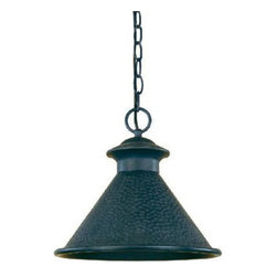 World Imports - World Imports 9008 Dark Sky Essen  Outdoor Hanging Lantern - World Imports 9008-42 Dark Sky 1-Light Pendant in Rust
