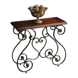 Butler Specialty - Butler Specialty Console Table -4139025 - Butler products are highly detailed and meticulously finished by some of the best craftsmen in the business.