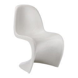 Vitra - Vitra New Panton Chair, White - Designed by Verner Panton.