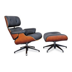 Unique Modern Chair & Ottoman - Unique Modern Chair & Ottoman