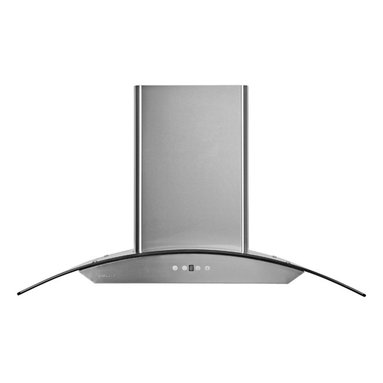 """Cavaliere - Cavaliere Euro AP238-PSD-42 42; Wall Mount Range Hood - Mounting version - Wall Mounted. 860 CFM centrifugal blower. Six-speed electronic, touch sensitive button control panel. Two dimmable 35W halogen lights (GU-10 type light bulbs). Stainless steel baffle filter (dishwasher-friendly). Delayed power auto shut off (programmable 1-9 minutes). Heavy duty 22 gauge machine crafted stainless steel (brushed finish). 6"""" round duct vent exhaust. Tempered glass canopy. Telescopic flue accommodates 8 ft to 9 ft ceilings (optional flue extension available for up to 12 ft ceiling). One-year limited factory warranty"""