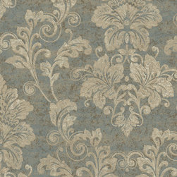 York Wallcoverings - PS3801 Wallpaper, Double Roll - Prepasted: Paste has already been applied to the back of the wallpaper and is activated with water.