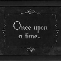 The Artwork Factory - Silent Movie Once Upon a Time Framed Artwork - Ready-to-Hang, 100% Made in the USA, museum quality framed artwork