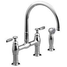 traditional kitchen faucets by Kohler