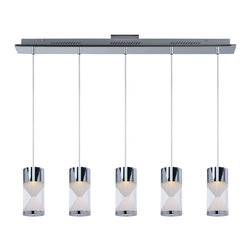ET2 - ET2 E22467-75PC Tyme 5-Light Led Pendant - ET2 E22467-75PC Tyme 5-Light Led Pendant