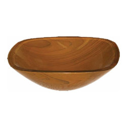 Renovators Supply - Vessel Sinks Dark Brown Glass Square Madera Hermosa Vessel Sink | 12937 - Glass Vessel Sinks: Double Layer Tempered glass sinks are five times stronger than glass- 3/4 inch thick- withstand up to 350 F degrees- can resist moderate to high degrees of impact & are stain?proof. Ready to install this package includes FREE 100% solid brass chrome-plated pop-up drain- FREE machined 100% solid brass chrome-plated mounting ring & silicone gasket. Measures 16 1/4 in. W x 16 1/4 in. proj. x 5 1/2 in. deep x 3/4 in. thick.