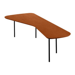 Knoll - Girard Table - Designer Alexander Girard was known for his inventive architectural pieces, and this table is the perfect example of such eye-catching modern splendor. With this cherry coffee table in your living room, you'll have a conversation piece before you at all times.