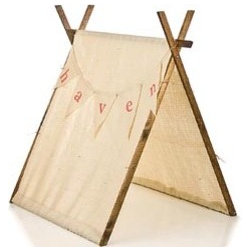 Personalized Childrens Teepee Playhouse - Every child needs a fun spot to hide out and perhaps read a good book.