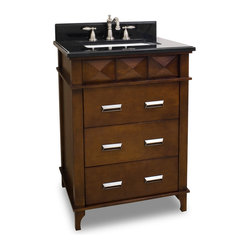 Lyn Design VAN082-T Wood Vanity